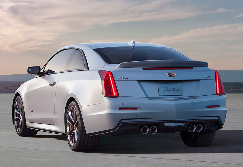 2016 cadillac ats v coupe specifications photo price information rating. Black Bedroom Furniture Sets. Home Design Ideas