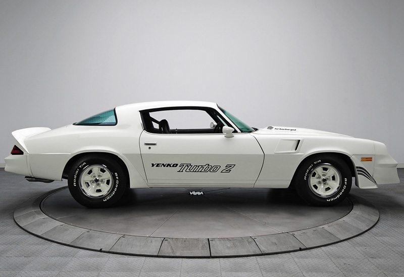 1981 Chevrolet Camaro Z28 Yenko Turbo Z Specifications