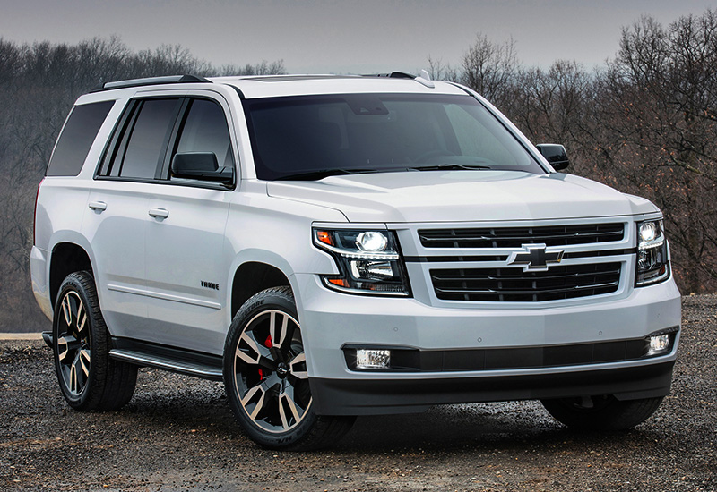 2018 Chevrolet Tahoe RST - specifications, photo, price ...