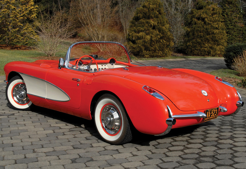 1956 Chevrolet Corvette V8 1 Specifications Photo