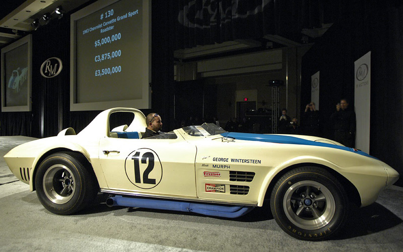 1963 Chevrolet Corvette Grand Sport Roadster