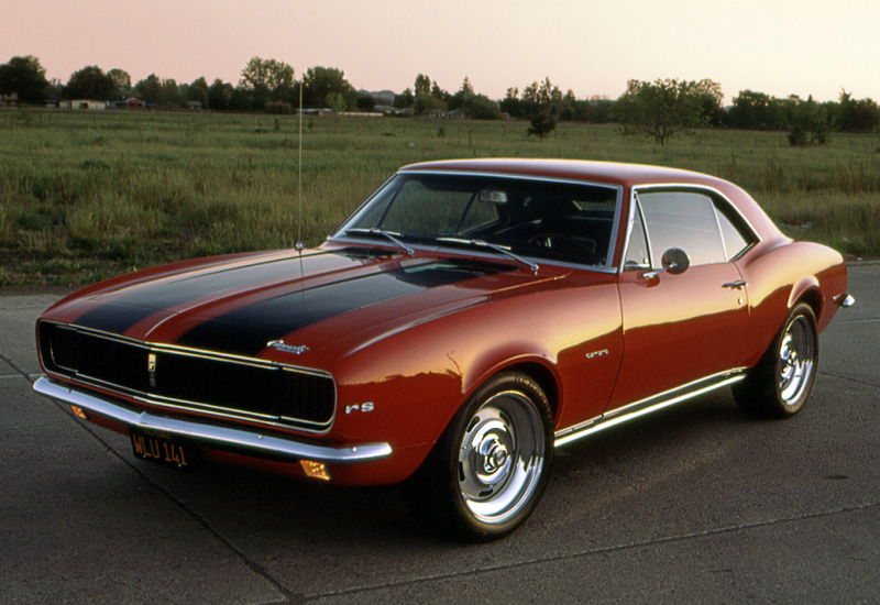 1967 Chevrolet Camaro Rs 327 Specifications Photo
