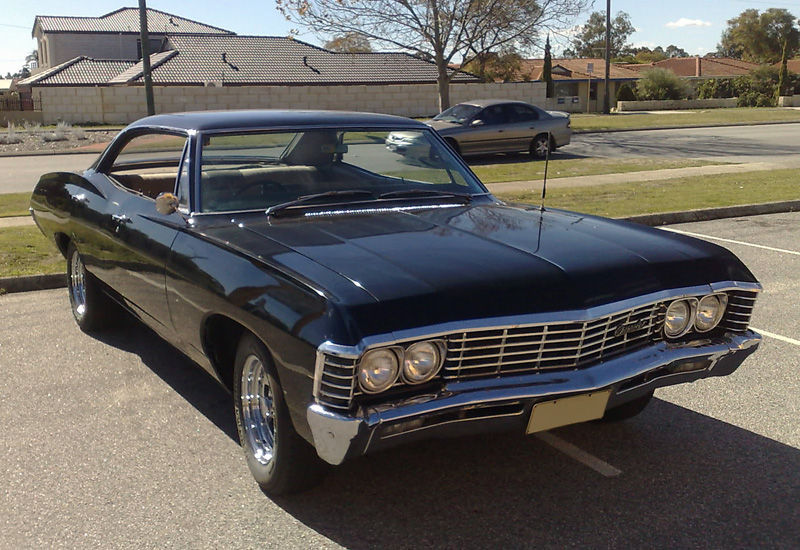 1967 chevrolet impala hardtop sedan specifications photo price information rating. Black Bedroom Furniture Sets. Home Design Ideas