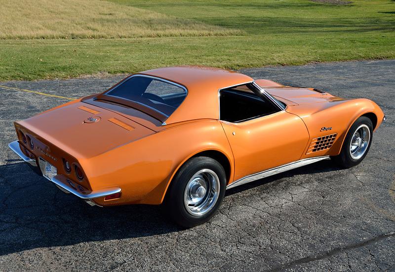 1971 Chevrolet Corvette Stingray Zr 2 Ls6 454 C3