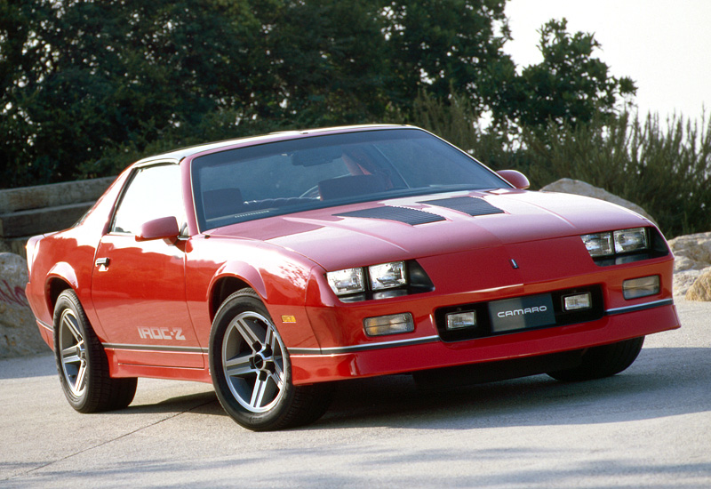 1986 Chevrolet Camaro Z28 Iroc Z Specifications Photo