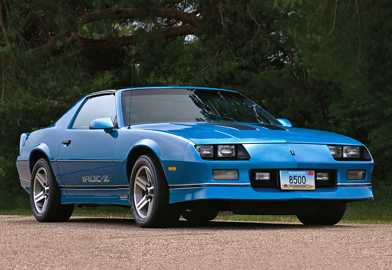 1986 chevrolet camaro z28 iroc z specifications photo. Black Bedroom Furniture Sets. Home Design Ideas
