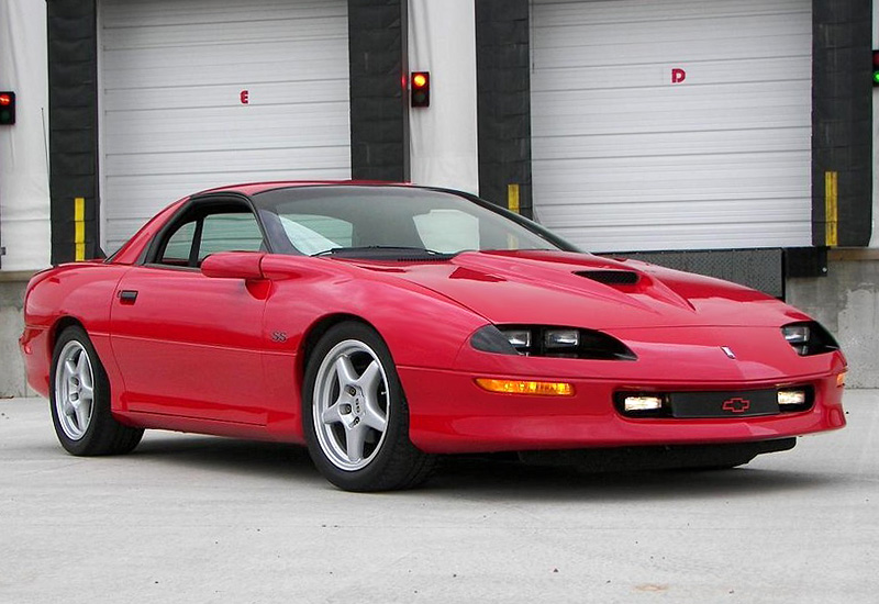 1996 Chevrolet Camaro Z28 SS - specifications, photo ...
