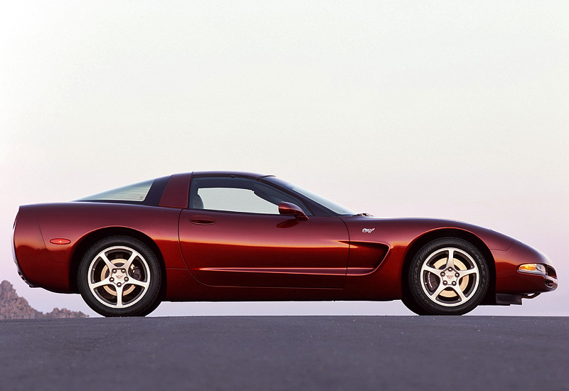 2003 Chevrolet Corvette Coupe 50th Anniversary ...