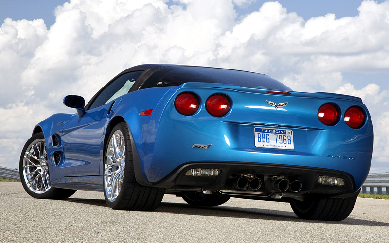 2008 chevrolet corvette zr1  c6