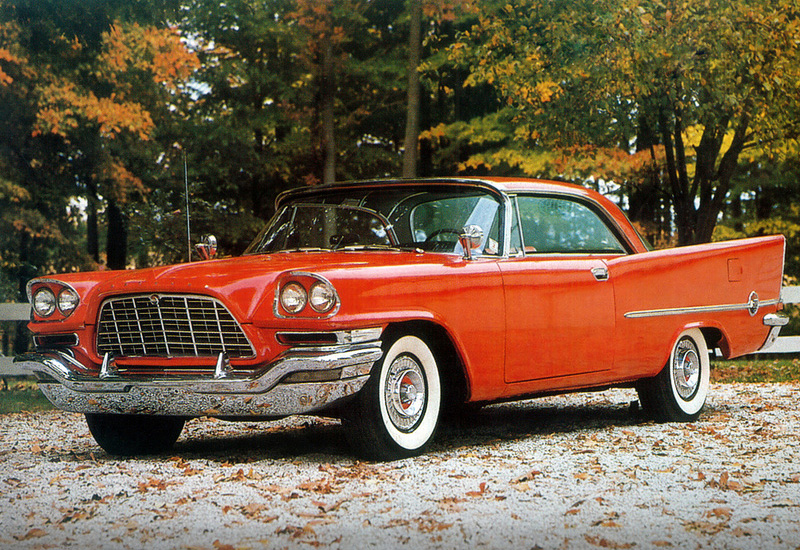 1957 Chrysler 300C Hardtop Coupe - specifications, photo ...