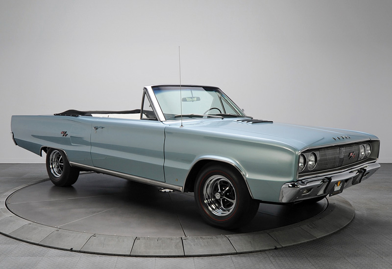 1967 Dodge Coronet R/T 426 Convertible - specifications ...
