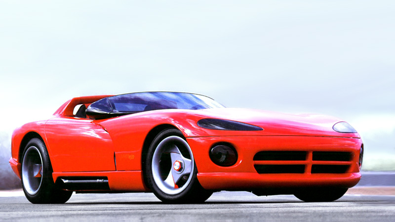 200 Kph To Mph >> 1989 Dodge Viper Concept VM-02 - specifications, photo ...