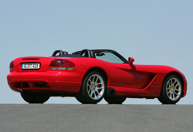 2003 Dodge Viper Srt10 Convertible Specifications Photo