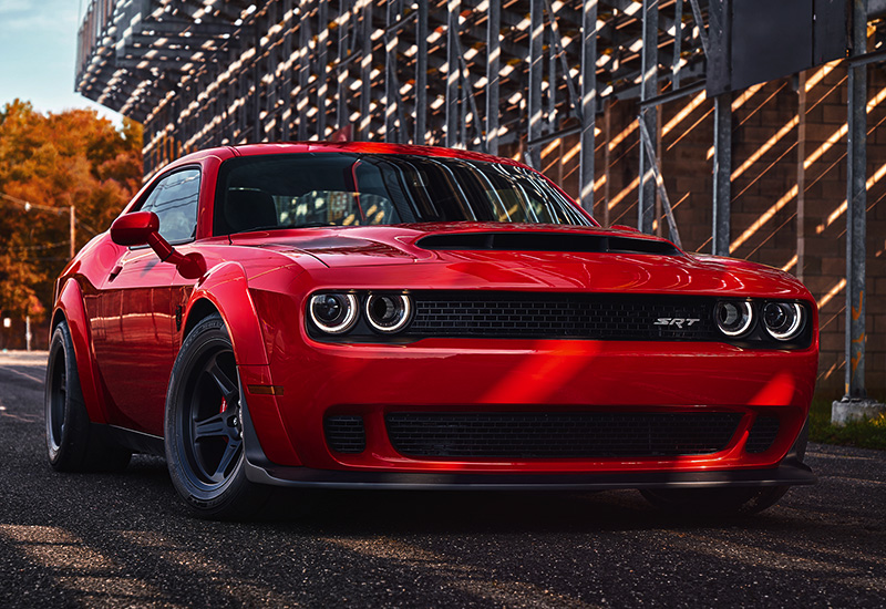 2018 Dodge Challenger SRT Demon - specifications, photo, price, information, rating
