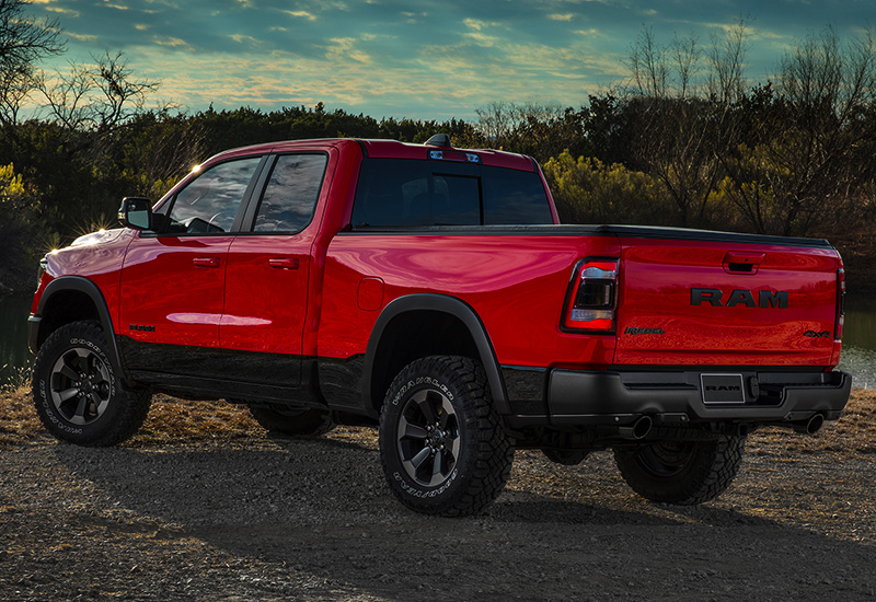Ram Rebel Price >> 2019 Dodge Ram 1500 Rebel Quad Cab - specifications, photo ...