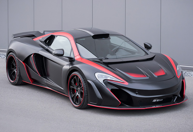 2016 McLaren 650S FAB Design Vayu GTR Coupe - specifications, photo ...