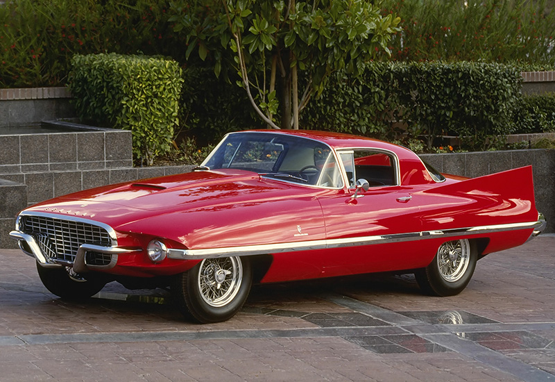 1956 Ferrari 410 Superamerica Coupe by Carrozzeria Ghia