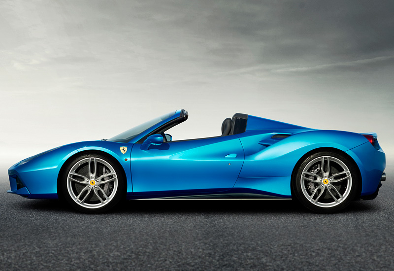 2016 ferrari 488 spider specifications photo price. Black Bedroom Furniture Sets. Home Design Ideas
