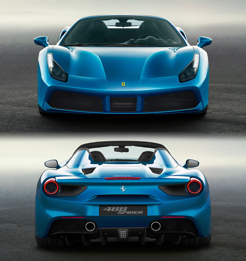 Ferrari 488 Spider: Specifications, Photo, Price