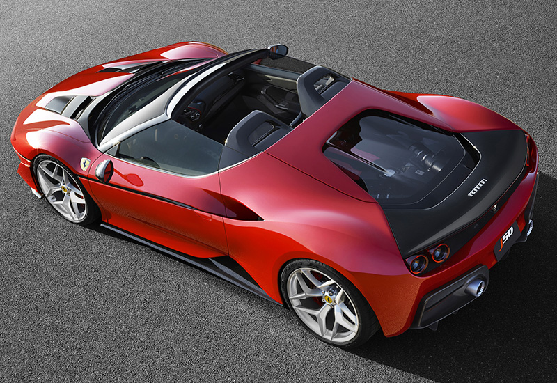 Top Fastest Cars >> 2017 Ferrari J50 - specifications, photo, price, information, rating