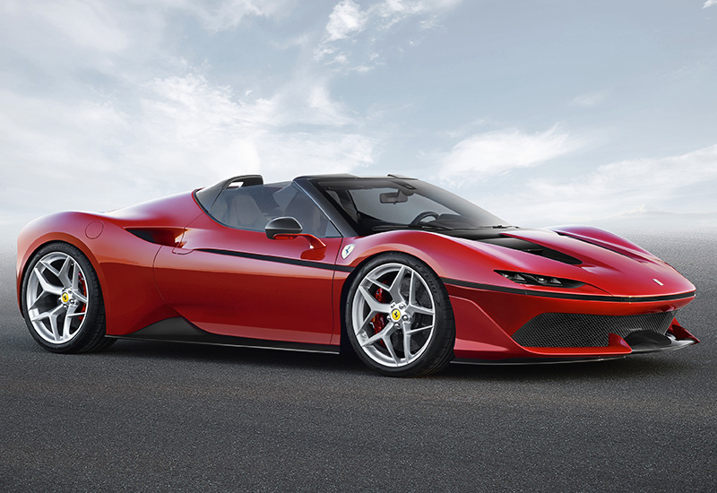 2017 Ferrari J50 Specifications Photo Price