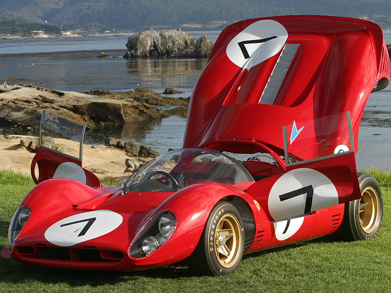 Most Expensive Cars >> 1967 Ferrari 330 P4 - specifications, photo, price, information, rating