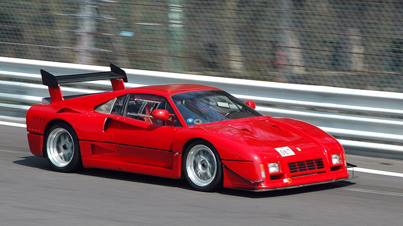 1986 Ferrari 288 Gto Evoluzione Specifications Photo