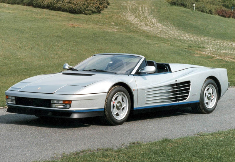 1986 Ferrari Testarossa Spider Pininfarina Specifications