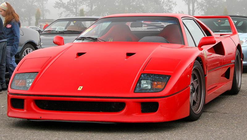 Ferrari F40 Partsopen