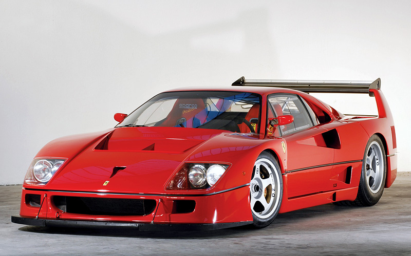 1989 Ferrari F40 Lm Specifications Photo Price Information Rating