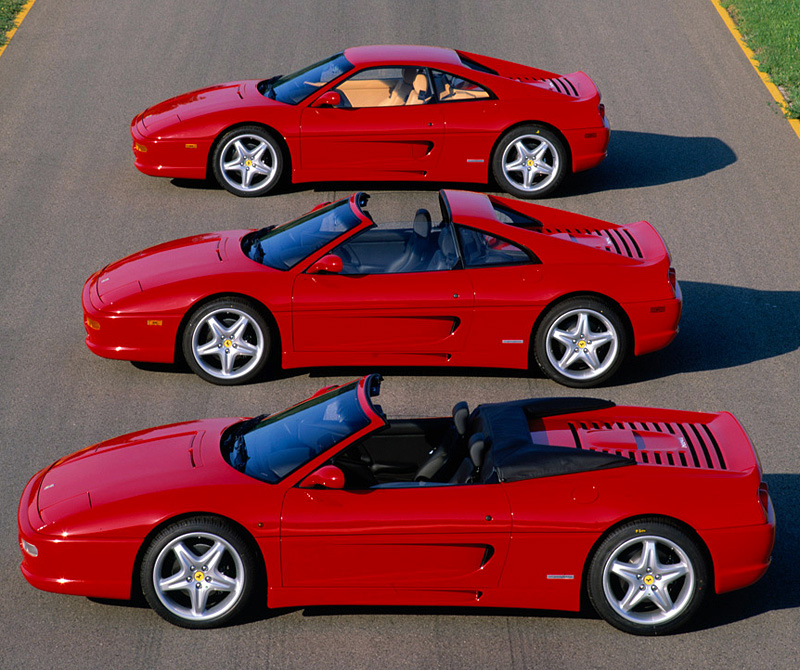 1994 Ferrari F355 Berlinetta Specifications Photo
