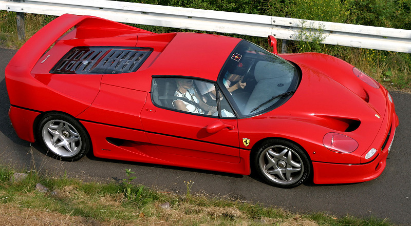 1995 Ferrari F50 Specifications Photo Price