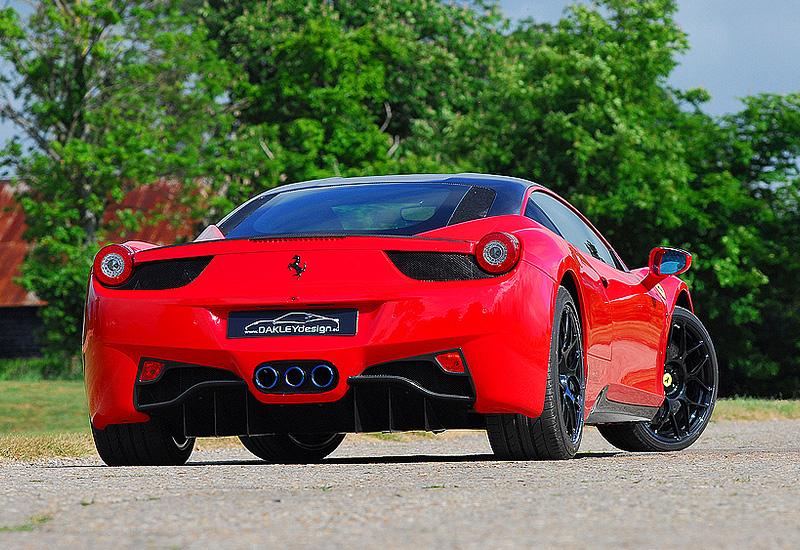 2010 Ferrari 458 Italia Oakley Design 630 Carbon Edition