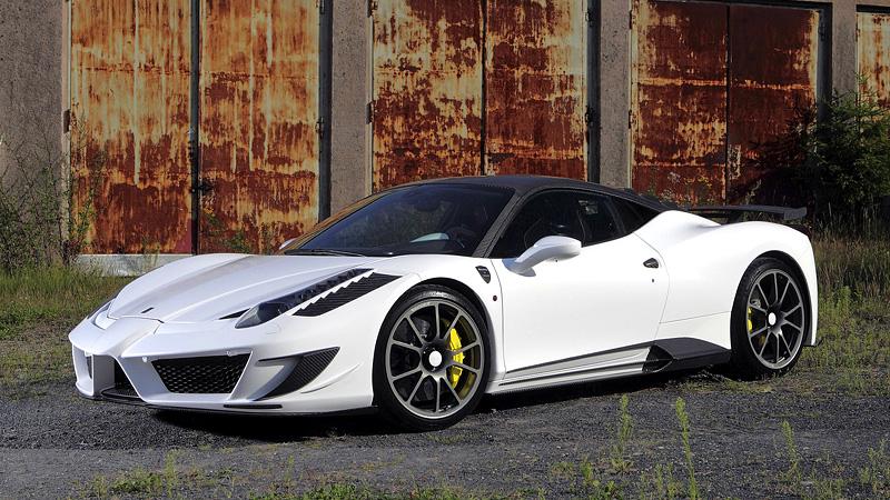 2011 Ferrari 458 Italia Mansory Siracusa Specifications