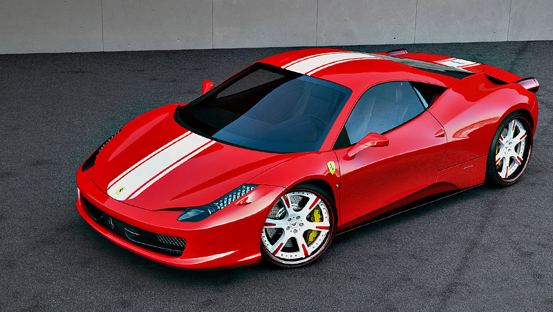 2011 Ferrari 458 Italia Wheelsandmore Stage 2