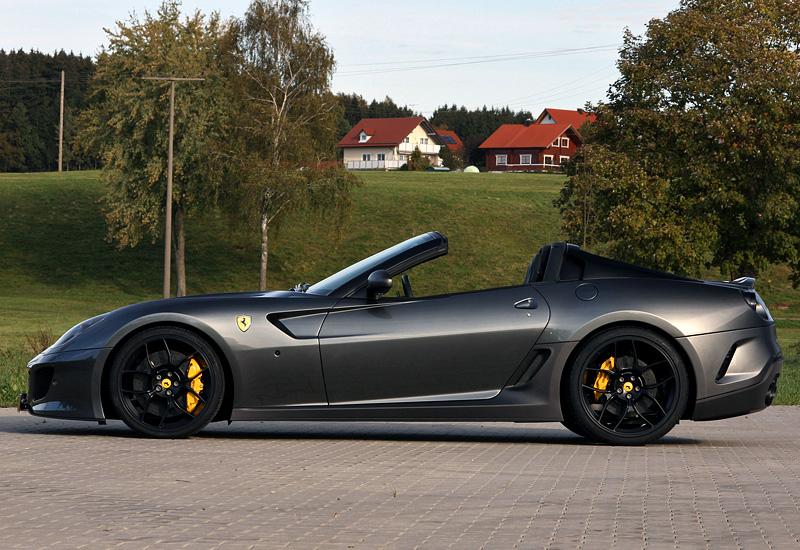 2012 Ferrari 599 Sa Aperta Novitec Rosso Specifications