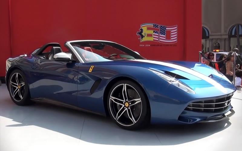 2014 Ferrari F60 America Specifications Photo Price