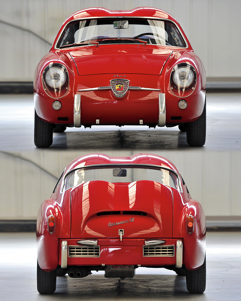 1957 Fiat Abarth 750 Gt Zagato Specifications Photo