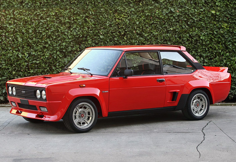 1976 Fiat 131 Abarth Rally Specifications Photo Price
