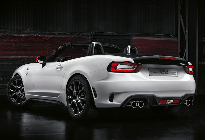 2016 fiat 124 spider abarth specifications photo price information rating. Black Bedroom Furniture Sets. Home Design Ideas