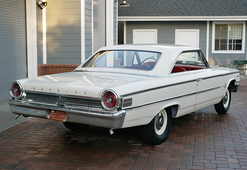 1963 Ford Galaxie 500 Lightweight 427 R-code - specifications, photo, price, information, rating