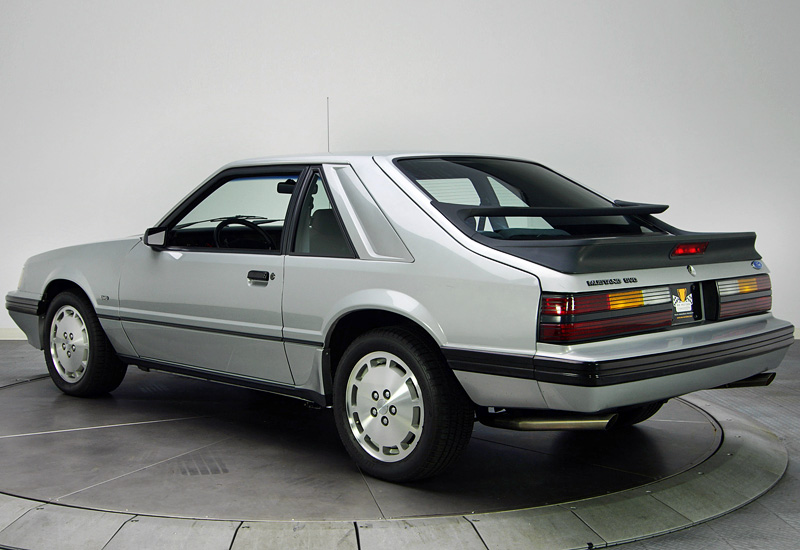 1986 Ford Mustang SVO - specifications, photo, price ...