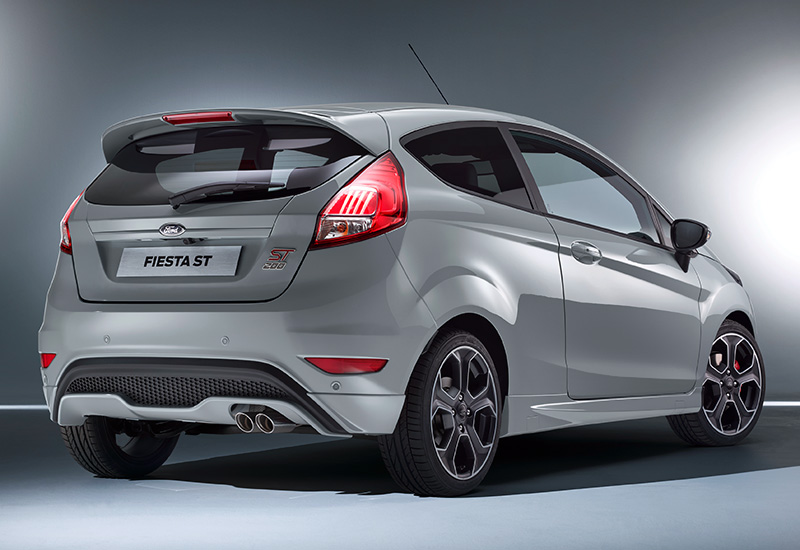 2016 ford fiesta st200 specifications photo price information rating. Black Bedroom Furniture Sets. Home Design Ideas