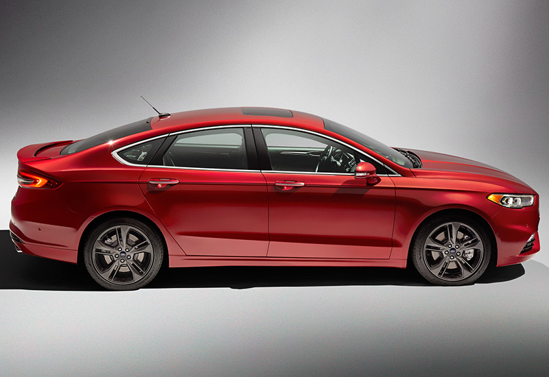 2017 Ford Fusion Sport EcoBoost specifications photo