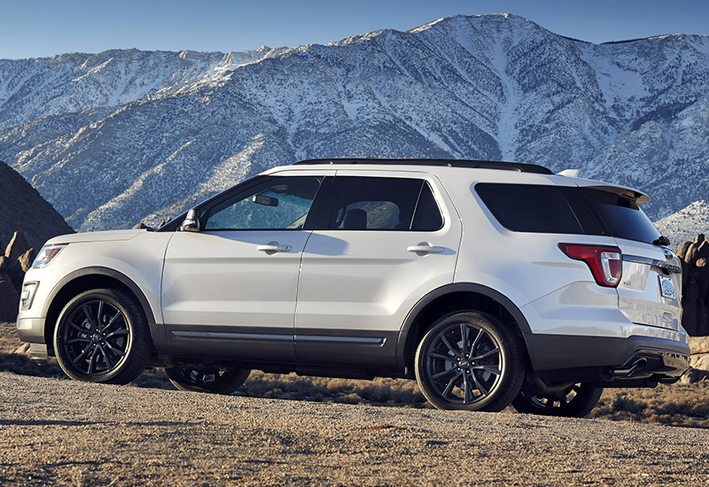 2017 Ford Explorer Sport U502 Specifications Photo