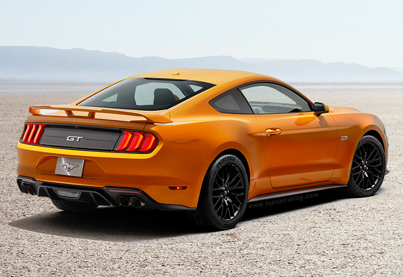 2018 ford mustang gt fastback specifications photo price information rating. Black Bedroom Furniture Sets. Home Design Ideas