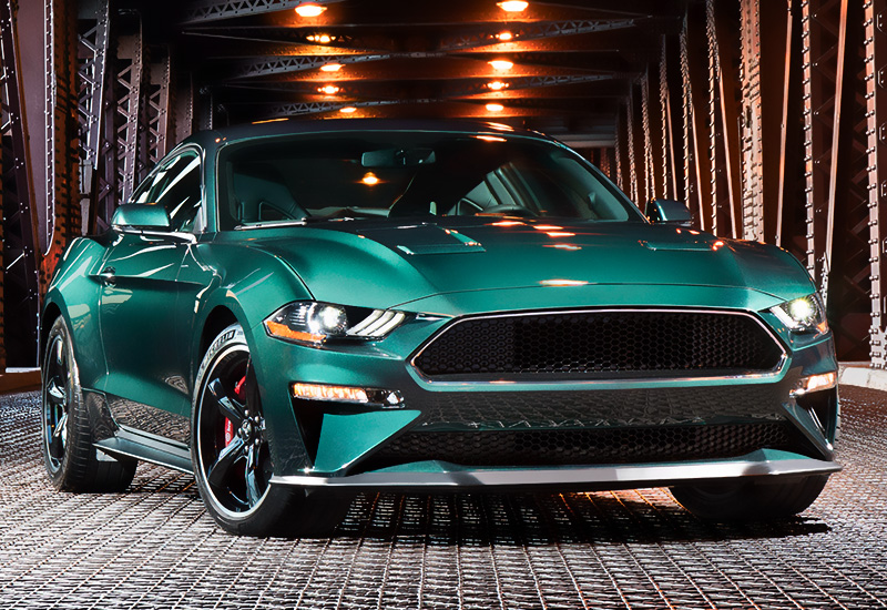 2019 Ford Mustang Bullitt - specifications, photo, price ...
