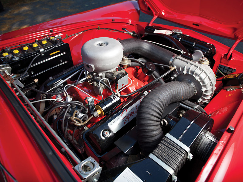 1957 Ford Thunderbird Special Supercharged 312