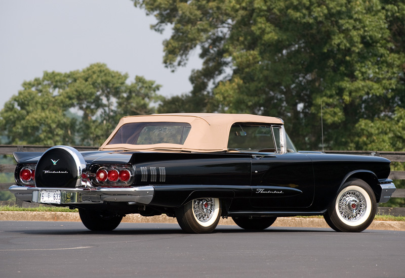 1960 Ford Thunderbird 430 Convertible Specifications