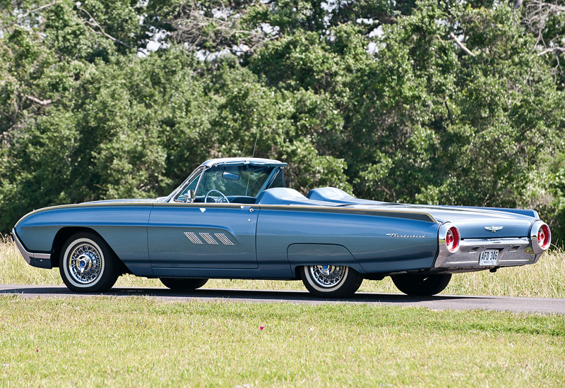 1963 Ford Thunderbird Sport Roadster Specifications